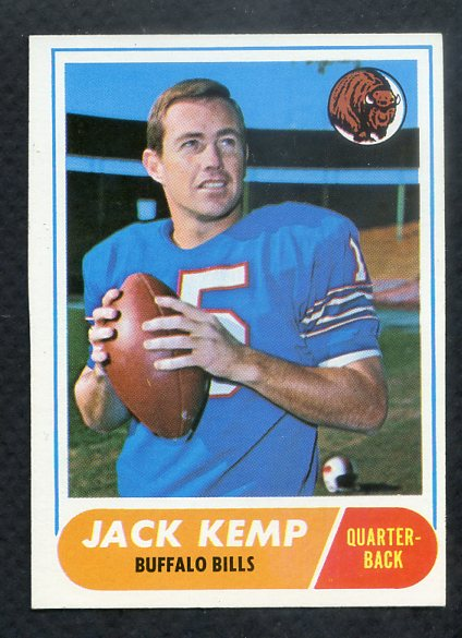 1968 Topps Football #149 Jack Kemp Bills NR-MT 361279