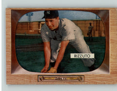 1955 Bowman Baseball #010 Phil Rizzuto Yankees GD-VG Erasure 363040