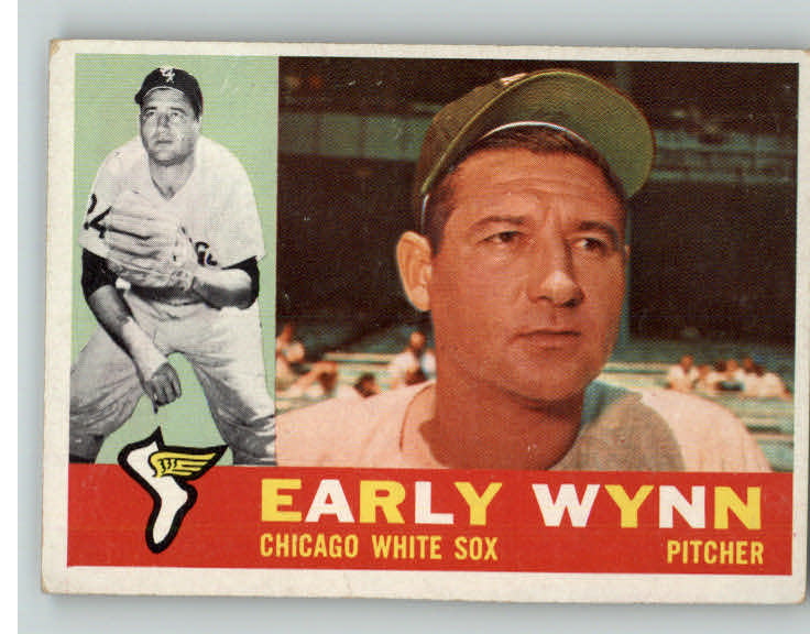 1960 Topps Baseball #001 Early Wynn White Sox VG-EX 371047