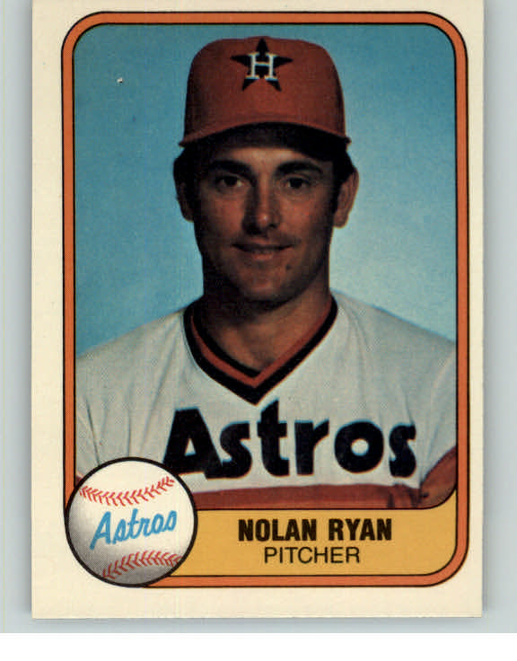 1981 Fleer Baseball #057 Nolan Ryan Astros EX-MT 375577