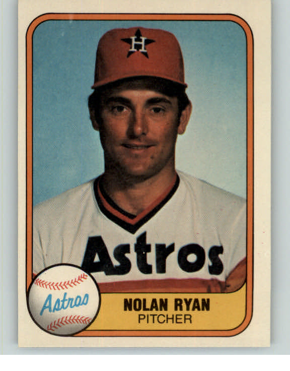 1981 Fleer Baseball #057 Nolan Ryan Astros EX-MT 375578