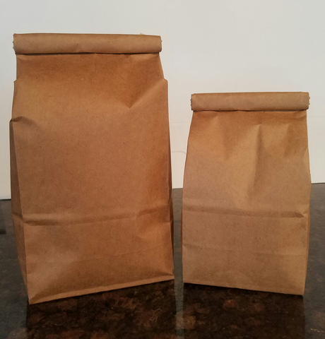 Paper coffee storage bags