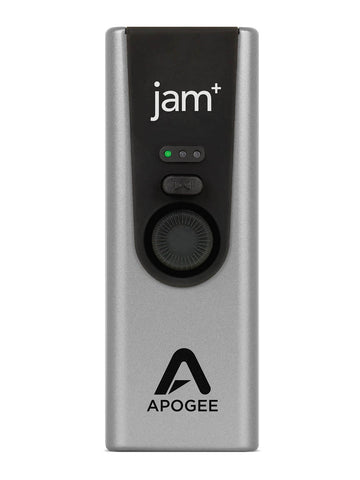 Apogee  Jam Plus - Portable USB Audio Streaming Interface for Guitars, Bass, Keyboards  and Instruments , Works with iOS, MAC OS and Windows PC, Made in USA