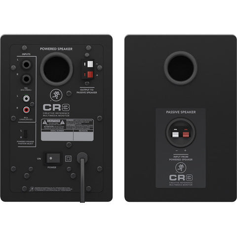 Mackie CR Series CR3 - Studio/Computer Reference Monitors Speakers