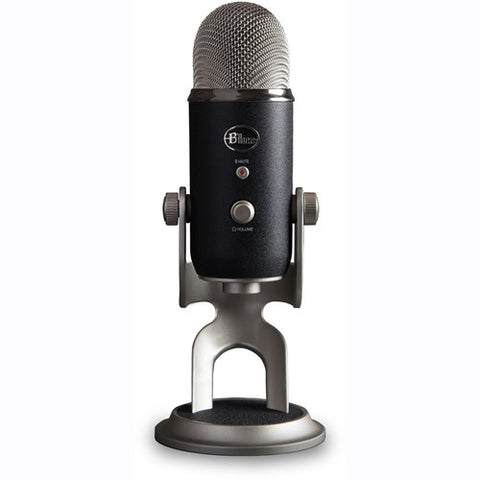 Blue Microphones Yeti Pro XLR and USB Condenser Mic with PreSonus + iZotope multi-track recording software
