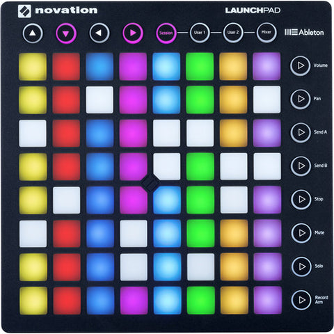 Novation Launchpad Ableton Live Controller with 64 RGB Backlit Pads (8x8 Grid) (Renewed)