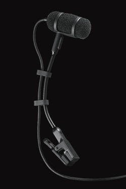 Audio-Technica ATM350 Cardioid Condenser Clip-On Microphone