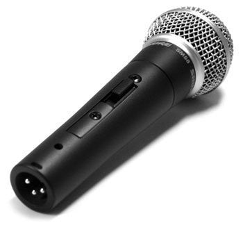 Shure SM58s Cardioid Dynamic microphone, On-Off Switch