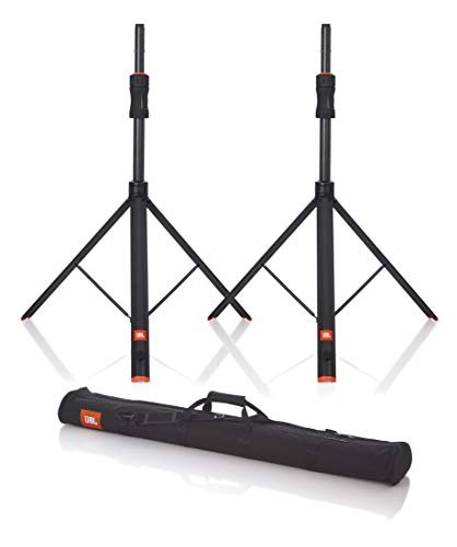 JBL Bags Deluxe Speaker Stand with Piston-Assist Automatic Height Adjustment; Pair of (2) with carry Bag (JBLSPKSTGAPROSET)