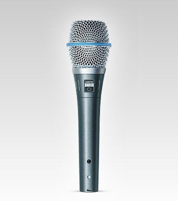 Shure BETA 87C Cardioid Condenser Microphone for Handheld Vocal Applications