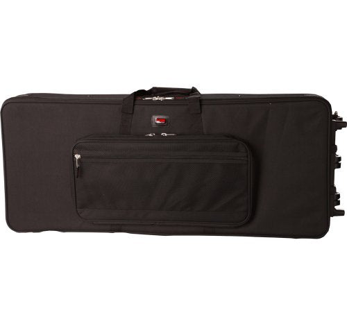 Gator Cases GK-88 XL Lightweight Rolling Keyboard Case for Extra Long 88 Note Keyboard