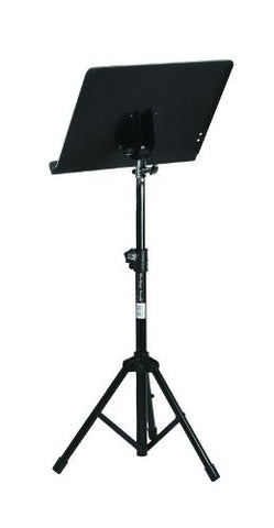 On Stage Stands SM7211B Conductor Stand with Tripod Folding Base, in Black