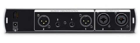 PreSonus BlueTube DP V2 2-channel Mic/Instrument Tube Preamp (Refurb)