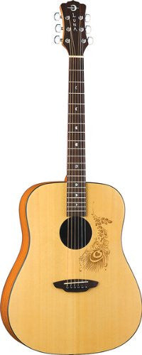 Luna Gypsy Henna Dreadnought Acoustic (Refurb)