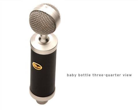 Blue Microphones Baby Bottle Studio Condenser Mic w/Case (Refurb)