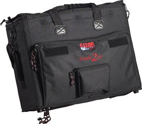 Gator Laptop and 2-Space Audio Rack Bag