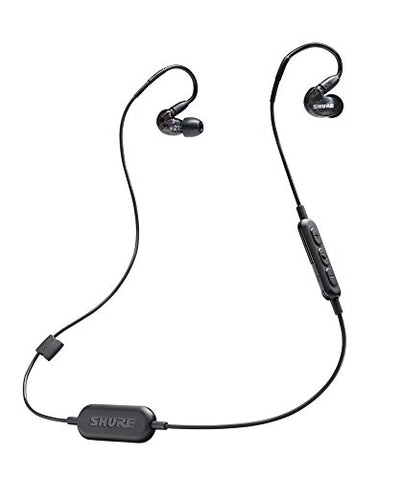 Shure SE215-K-BT1 Bluetooth Wireless Sound Isolating Earphones, Black (Refurb)