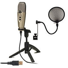 CAD U37 USB Studio Quality Recording Bundle Plug n' Play (Refurb)