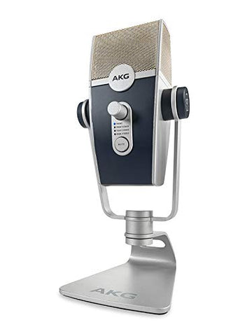 AKG Lyra Multipattern USB Condenser Microphone for Recording+Streaming 4 capsule