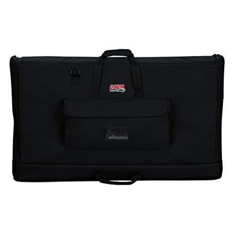 Gator G-LCD-TOTE-MD Padded Nylon Carry Tote Bag for Transporting LCD Screens Between 27