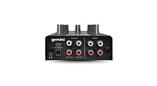 Gemini MM1 6.5?, 2-channel stereo mixer