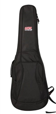 Gator 4G Style gig bag for electric guitars with adjustable backpack straps, GB-4G-ELECTRIC