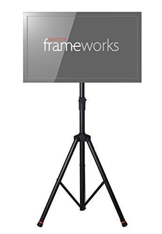 Gator GFW-AV-LCD-2 Frameworks deluxe adjustable tripod LCD/LED stand with LiftEEZ Piston Frameworks deluxe adjustable tripod LCD/LED stand with LiftEEZ Piston