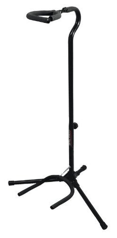 On Stage Stands GS7153B-B Flip-It! Gran Guitar Stand, in Black (Refurb)