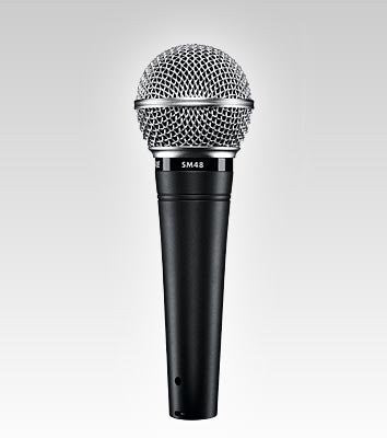 Shure SM48S-LC - Vocal Microphone with on/off Switch