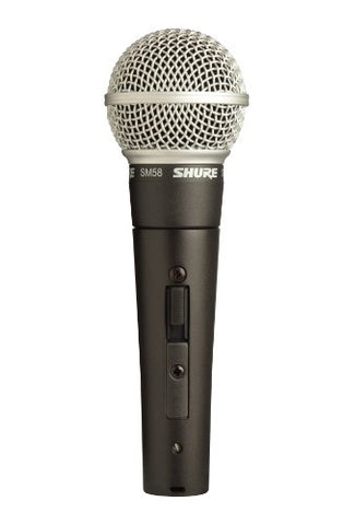 Shure SM58s Cardioid Dynamic microphone, sm58 with On-Off Switch