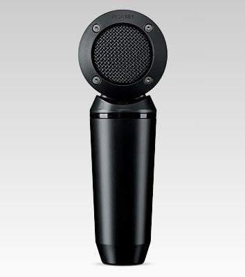 Shure PGA181-LC Side-address cardioid Condenser Microphone with No Cable