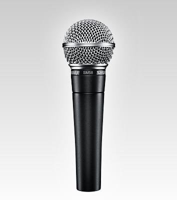Shure SM58-LC Cardioid Dynamic Microphone