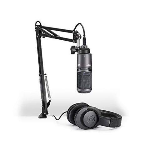 Audio-Technica AT2020USB+PK Vocal Microphone Pack for Streaming/Podcasting (Refurb)