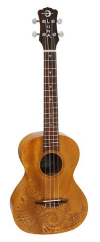 Luna Mahogany Series Tattoo Tenor Ukulele (Refurb)