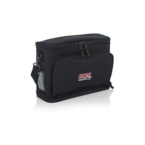 Gator Cases Padded Carry Bag to Hold Shure BLX Style Wireless System with (2) Microphones and (2) Body Packs GM-DUALW