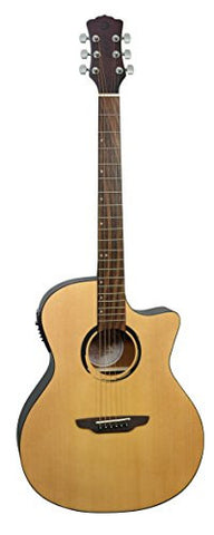 Luna WABI SABI Grand Concert Solid Top Acoustic/Electric Guitar