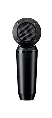 Shure PGA181-XLR Side-address cardioid Condenser Microphone with 15' XLR-XLR Cable(Refurb)