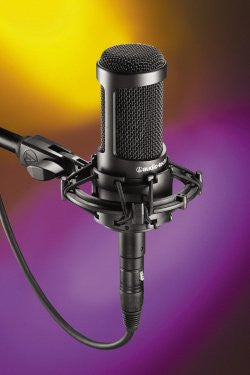 Audio Technica AT2035 Cardoid Condenser Microphone
