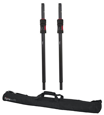 Gator GFW-ID-SPKR-SPSET Pair of ID Sub Poles with Carry Bag (Refurb)
