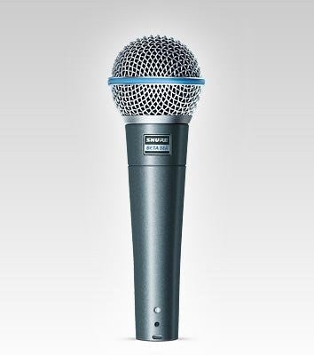 Shure Beta 58A Supercardioid Vocal Microphone