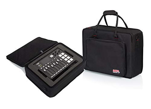 Gator Cases Lightweight Case with Custom Cut Foam Interior for RODECASTER Pro Podcast Mixer and Two Microphones; (GL-RODECASTER2)