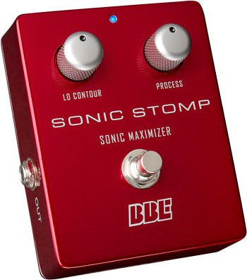 BBE SONIC STOMP Sonic Maximizer Stomp Box Pedal
