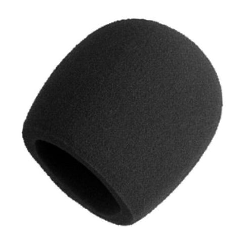 Shure A58WS-BLK Foam Windscreen for All Shure Ball Type Microphones, Black