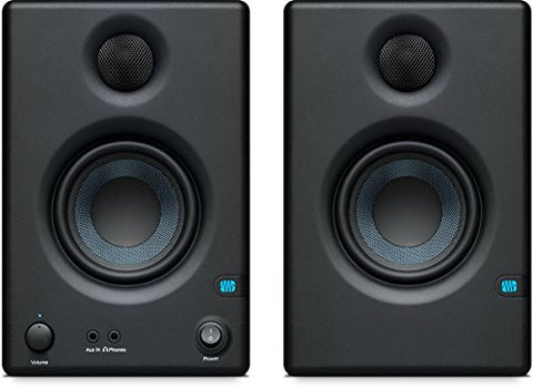 PreSonus Eris E3.5-3.5 inch Professional Multimedia Reference Monitors with Acoustic Tuning (Pair)