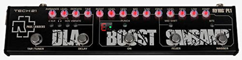 Tech 21 Paul Landers PL1 Signature Fly Rig - SansAmp, EFX and Boost Guitar Effect Pedal