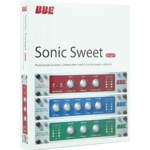 BBE Sonic Sweet Audio Plug-In Suite