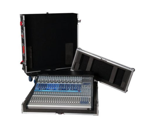Gator Tour Series G-TOUR PRE242-DH Mixer Case with Dog House for The PreSonus Studio Live 24