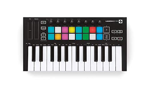 Novation Launchkey Mini MK3 25-Mini-Key MIDI Keyboard (Refurb)