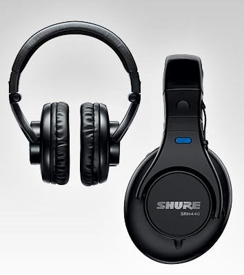 Shure SRH440 Professional Studio Headphones (Black)