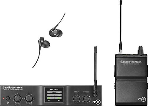 Audio-Technica M2L Wireless In-Ear Monitor System, Frequency Band L